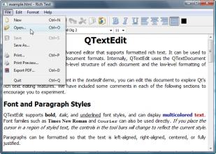 Programme Qt sous Windows 7