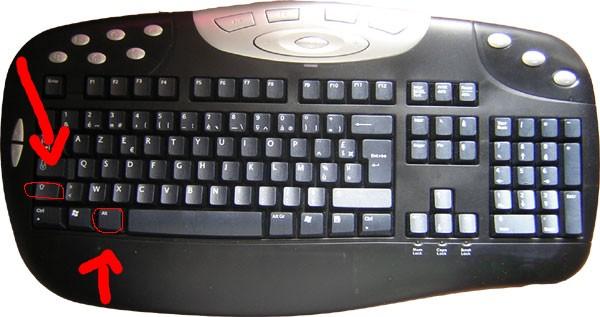 R solu clavier qui inverse les lettres a devient q q for Les parties du clavier