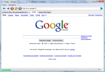 Navigateur web softwarezator