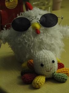 Wonder Poulpy et Monsieur Poule