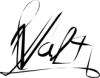 Signature Valt réalisée avec Inkscape