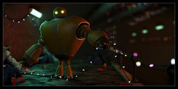 Le Robot, par Henri Hebeisen