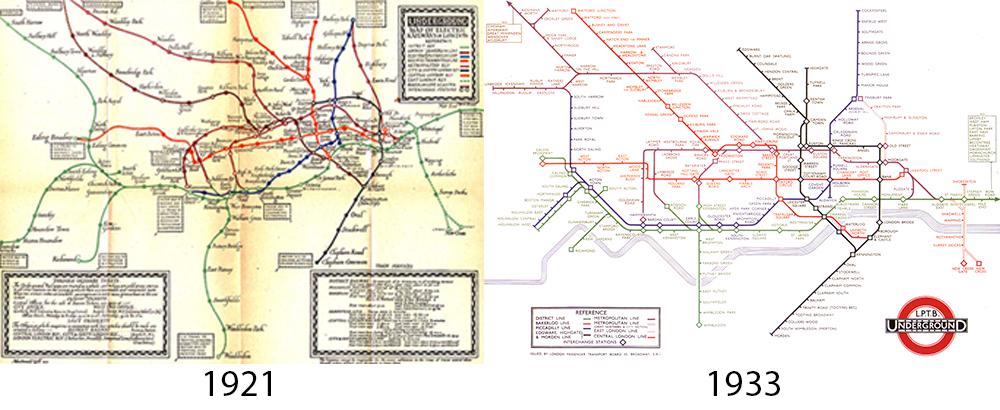Archives du plan de métro de Londres - Clarksbury