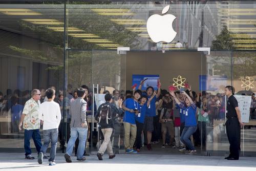 L'enthousiasme pour les produits Apple est saisissant
