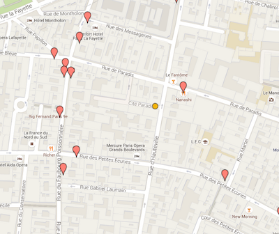 Our collaborative restaurants map, if you can't decide where to go