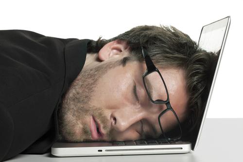 Le clavier c'est pas très confortable comme oreiller