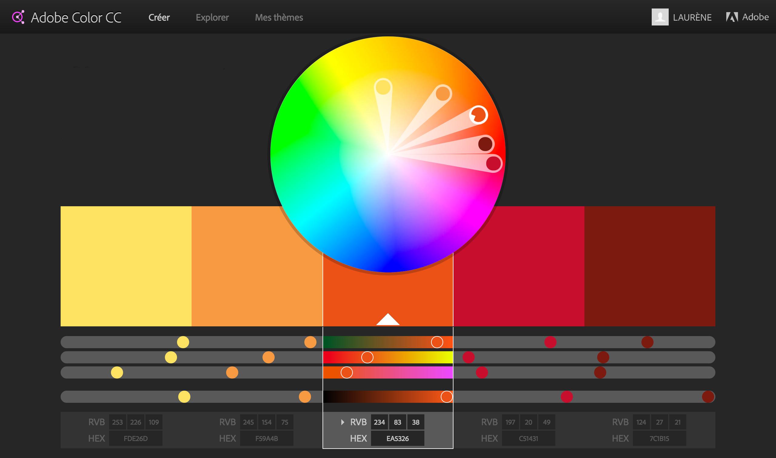 Les couleurs du logo d'OpenClassrooms