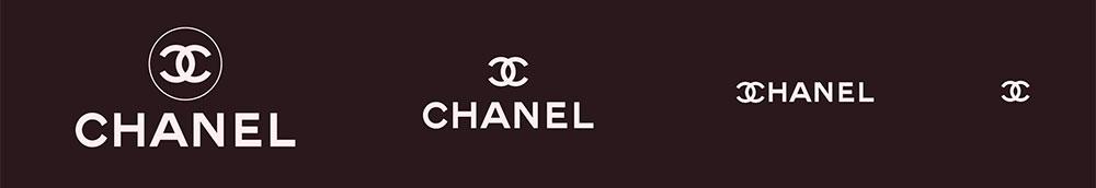 Les différentes utilisations possibles du logo Chanel