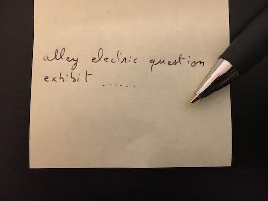 La graine doit être notée sur une feuille de papier