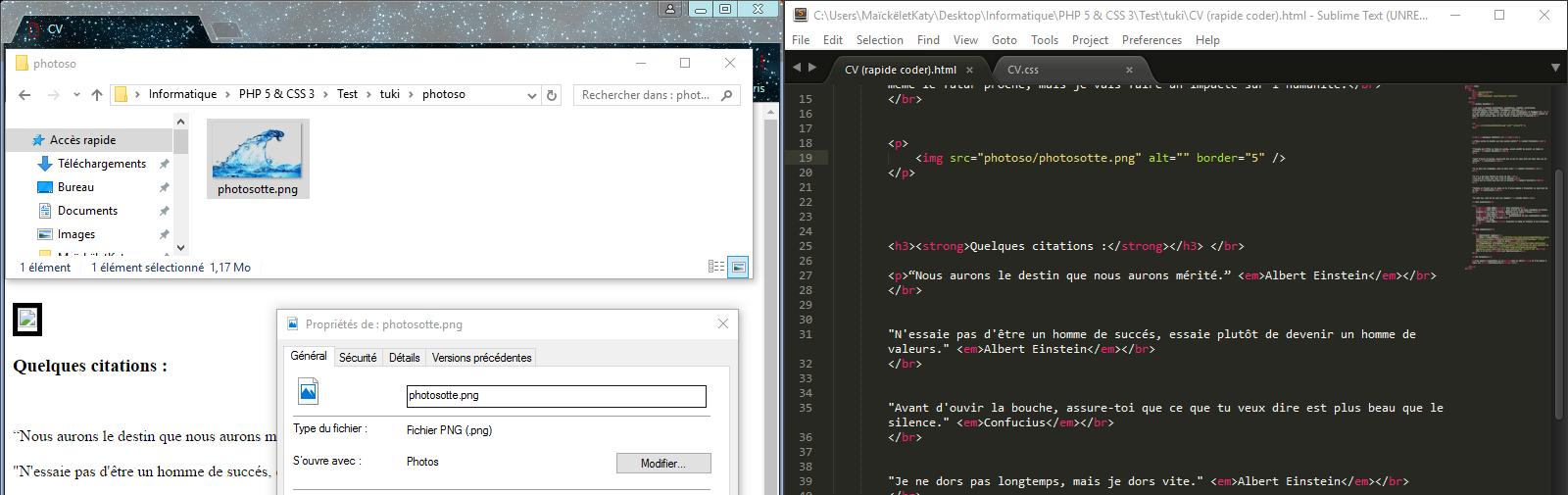 r u00e9solu  probl u00e8me   ins u00e9rer une image    html  par ma u00efck5