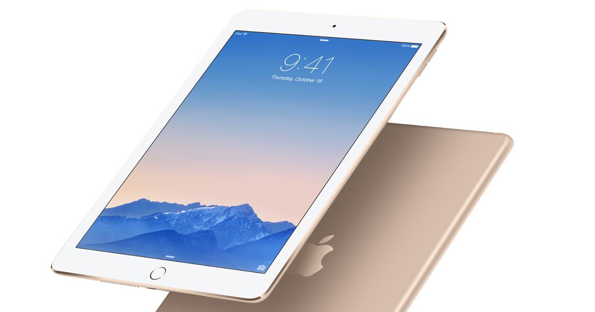 Dernier arrêt l'iPad !