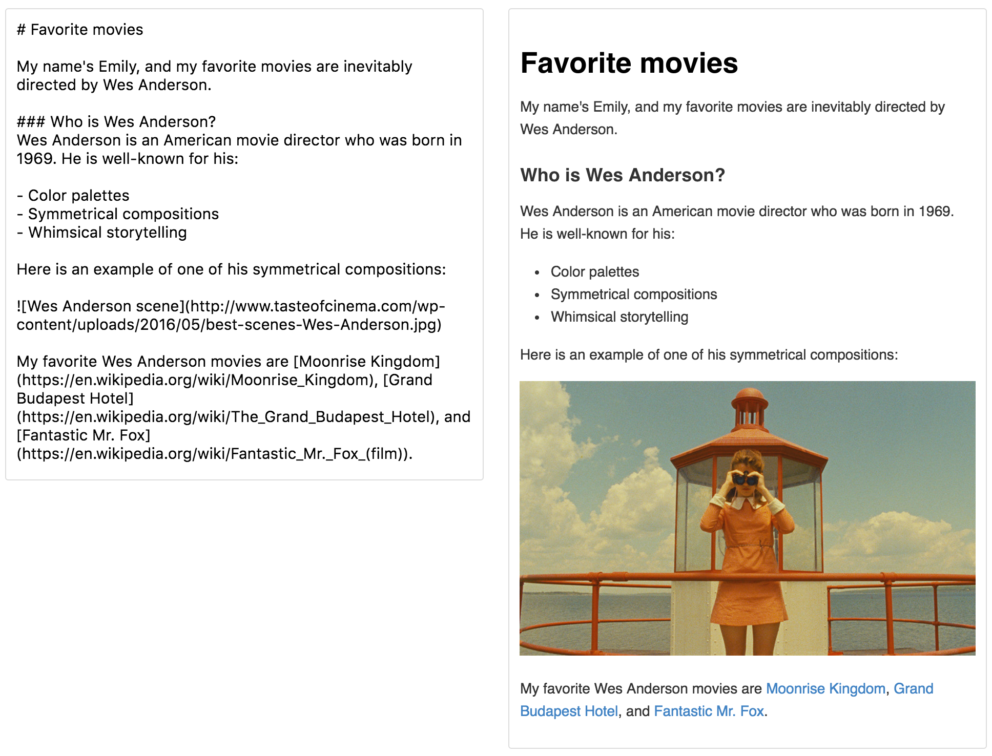 Learn the Markdown language - Contribute to open source on