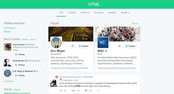 Résultats pour HTML
