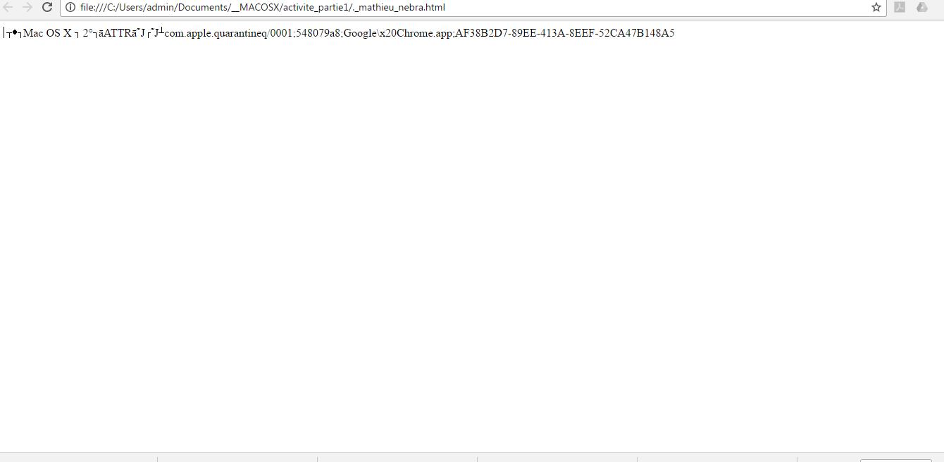 r u00e9solu  probl u00e8me d u0026 39 affichage html compress u00e9