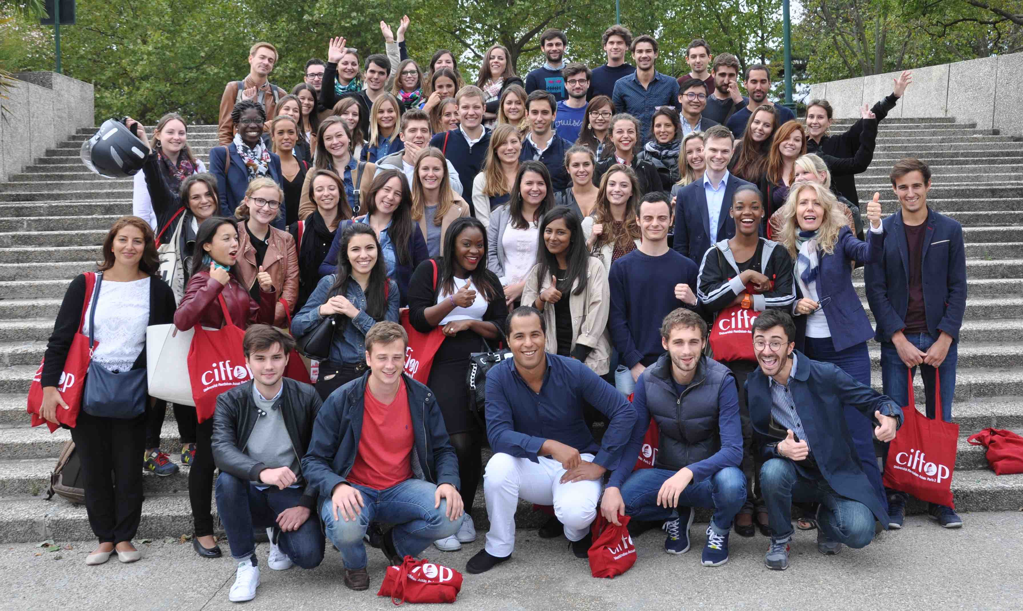 Les étudiants du CIFFOP