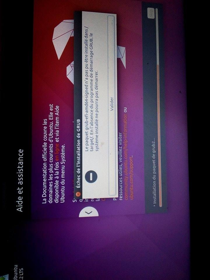 Grub / installation Ubuntu par AkramDerdaki - OpenClassrooms