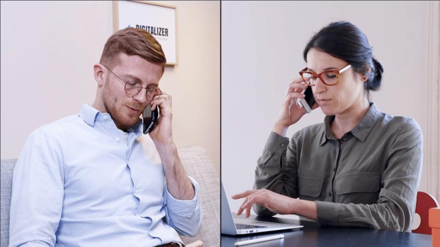Un recueil des besoins par téléphone