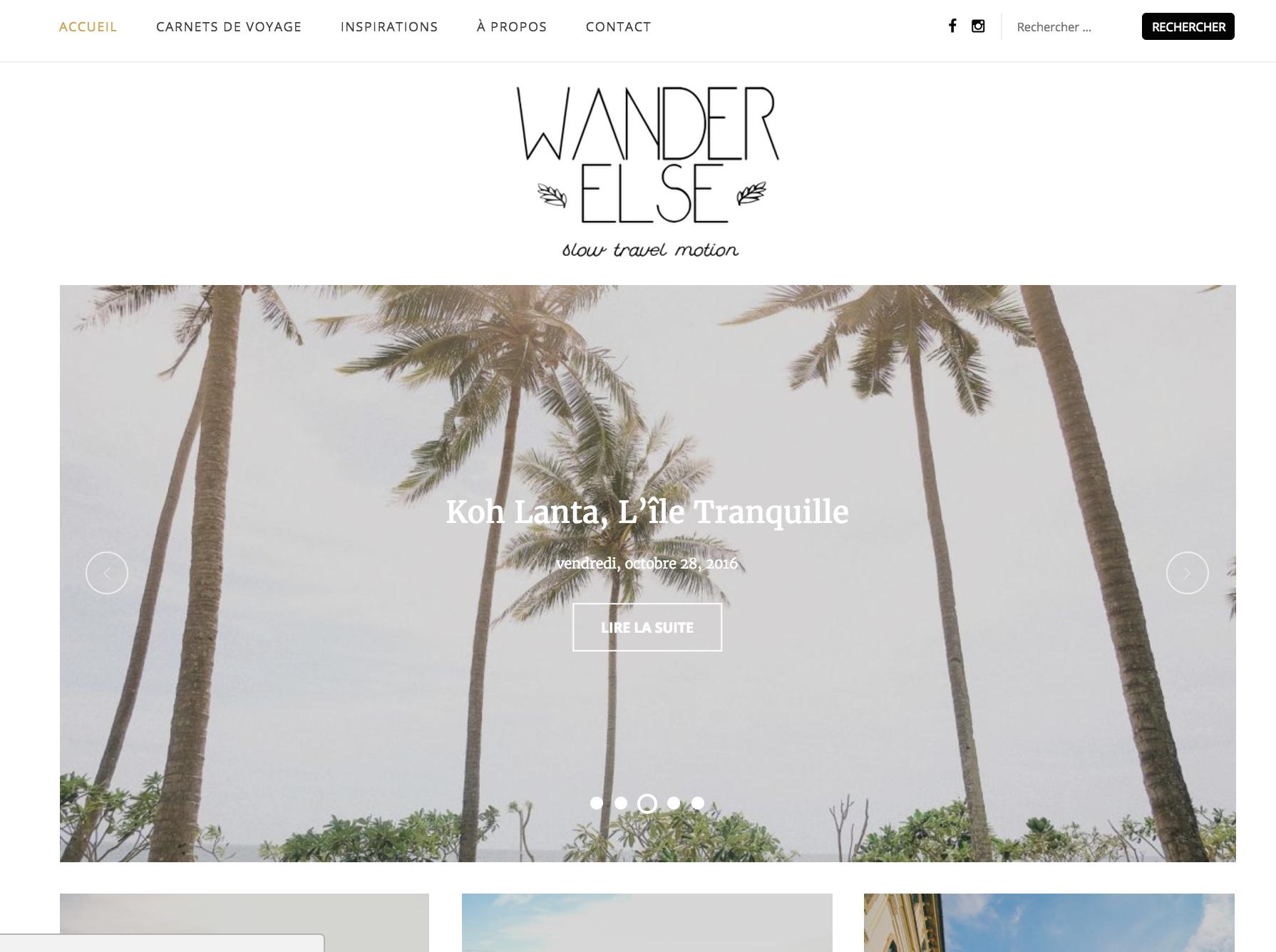 Wander else