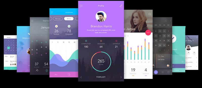 Kit UI gratuit - Invision - https://www.invisionapp.com/do
