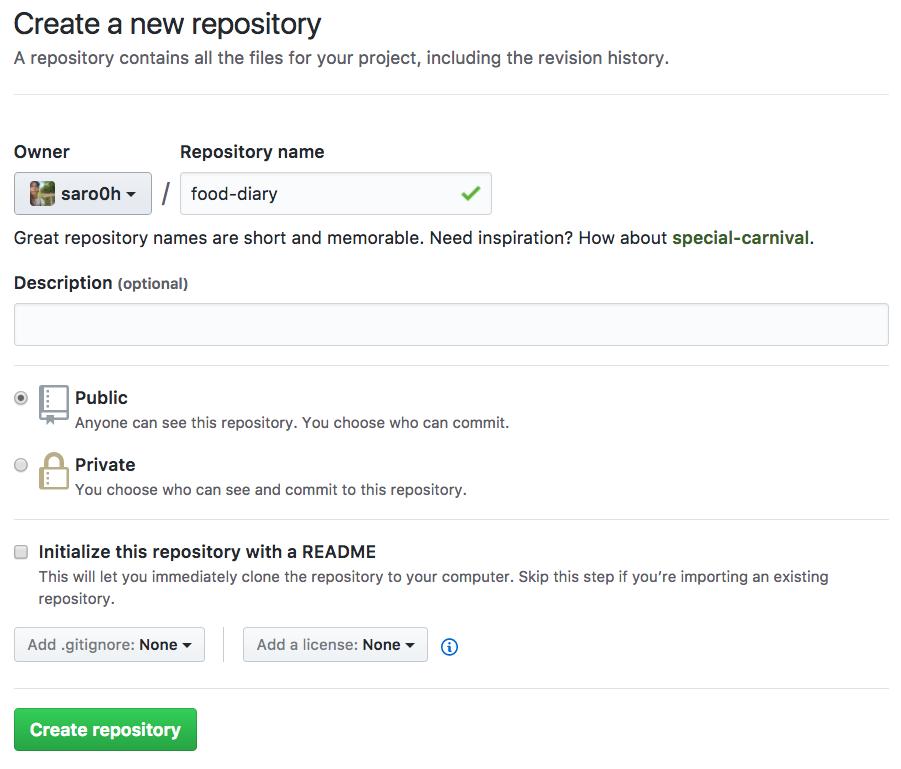 Créer un nouveau repository sur Github.com