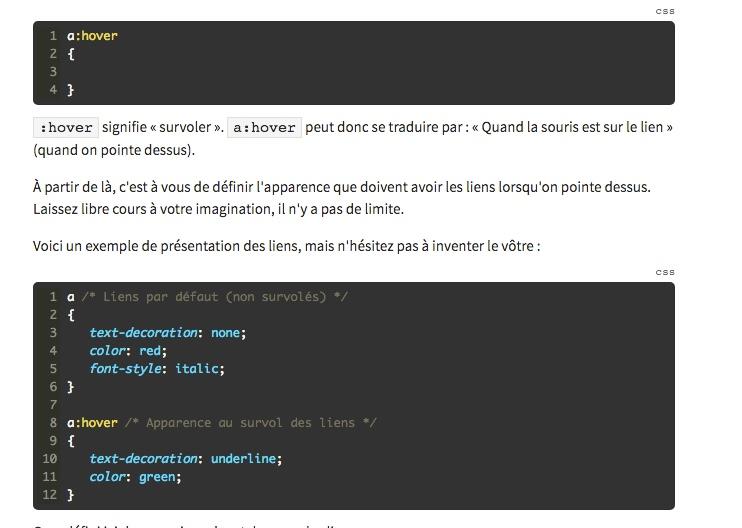 cours html css site du zero pdf