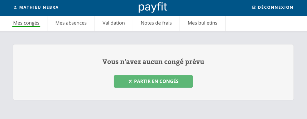 Don't forget to set your holidays on PayFit!