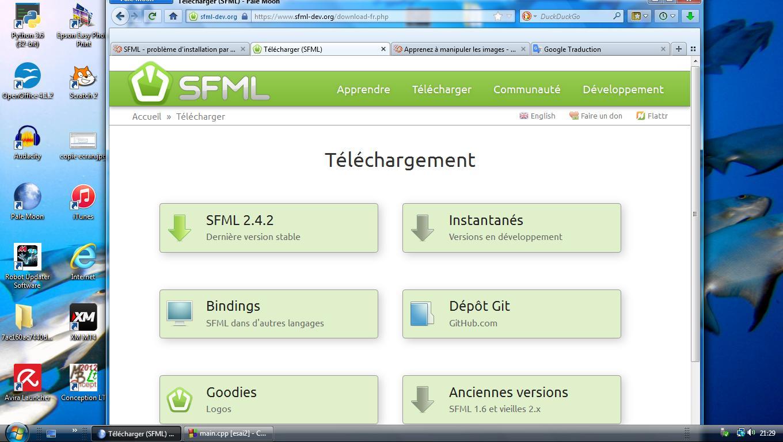 Résolu] SFML - problème d'installation par michej - OpenClassrooms