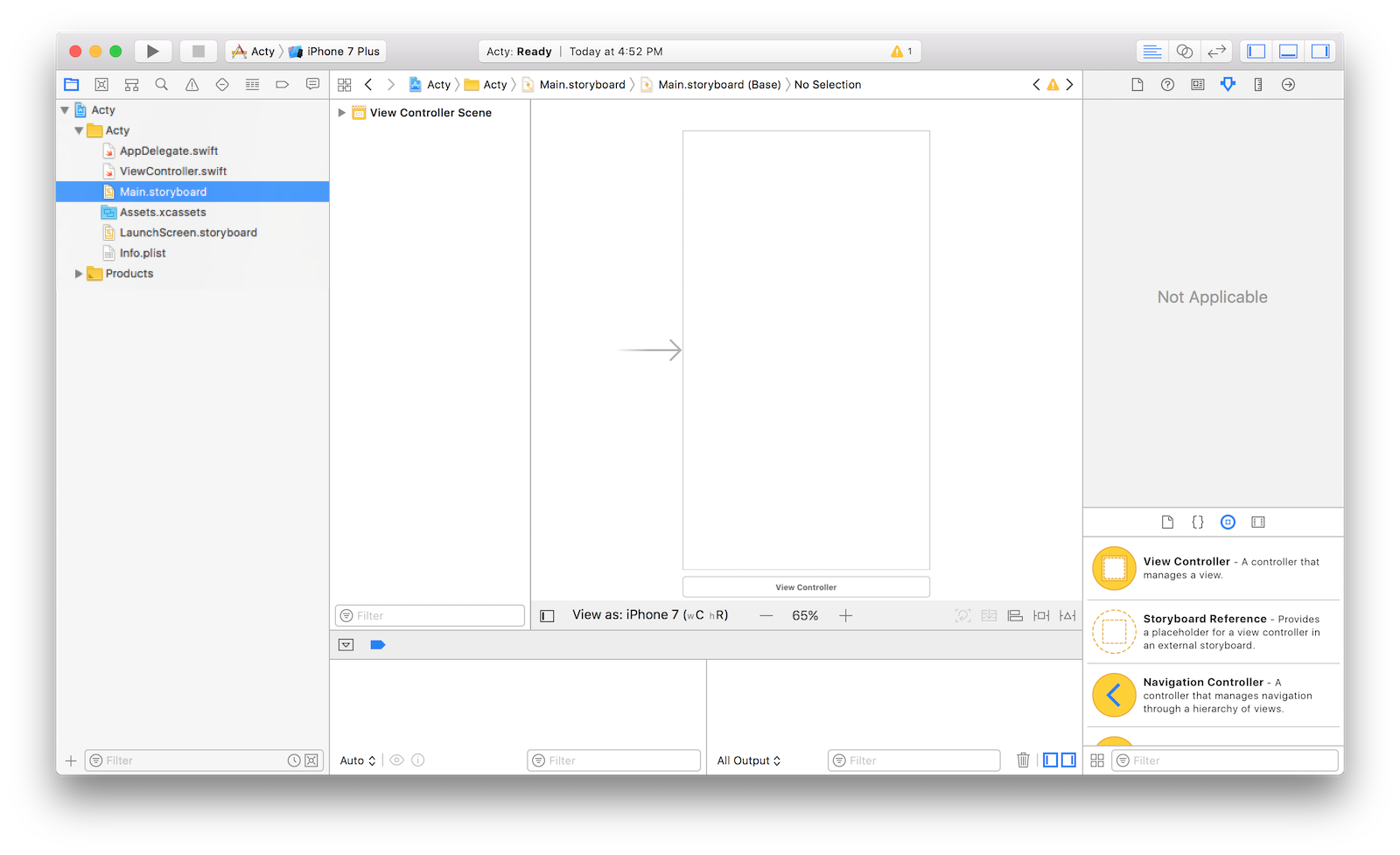 The Xcode Storyboard