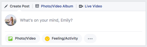 Facebook using my first name in a string
