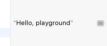 Playground code output