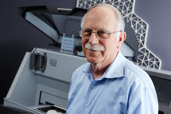 Chuck Hull l'inventeur de l'impression 3D