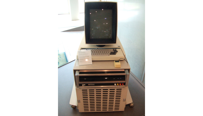 The Xerox Alto, one of the very first personal computers
