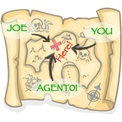 Joe & YOU vs. Agent01