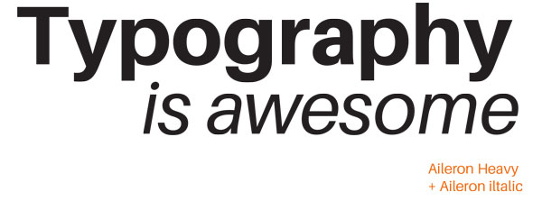 Examine typography as a tool for communication - Communicate