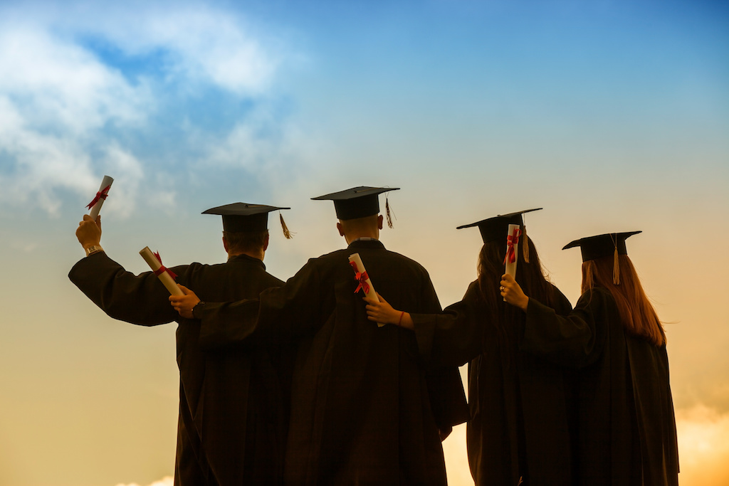 A group of students who graduate in the same year is a cohort