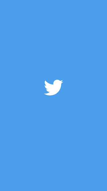 Twitter launch screen