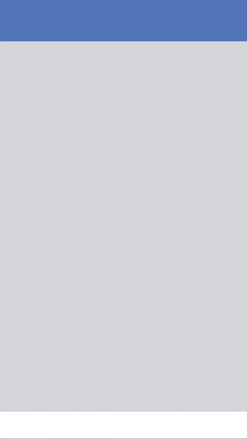 Facebook iOS app launch screen