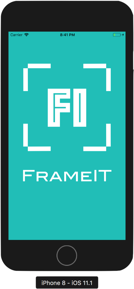 FrameIT launch screen