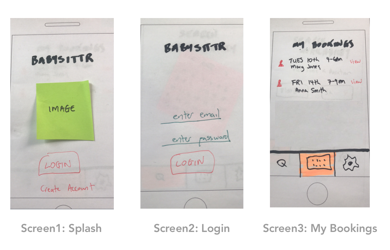 Create A Paper Prototype Learn Sketch Build A Clickable Prototype And Test It On Your Mobile Openclassrooms