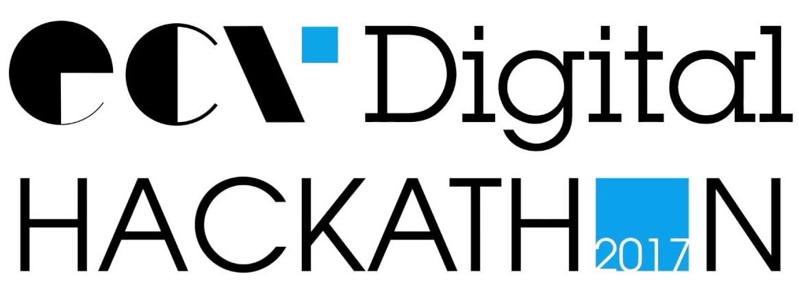 Logo du Hackathon de l'ECV Digital, notre exemple !