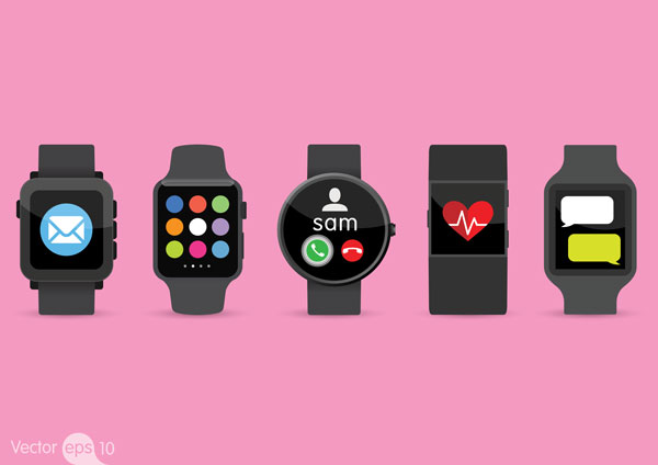 There is variety within types of devices as well. Not all smart watches have the same shape