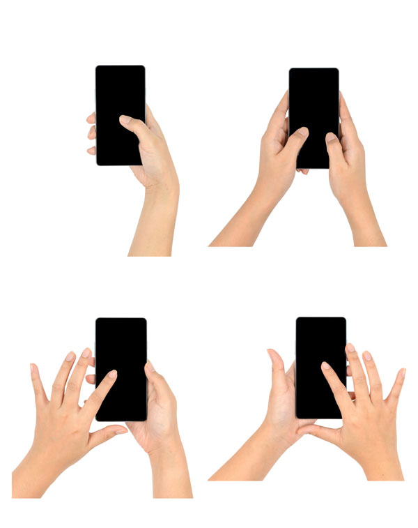 Depending on the device, gestures can be used to accomplish different tasks and goals.