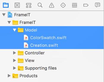 Model files