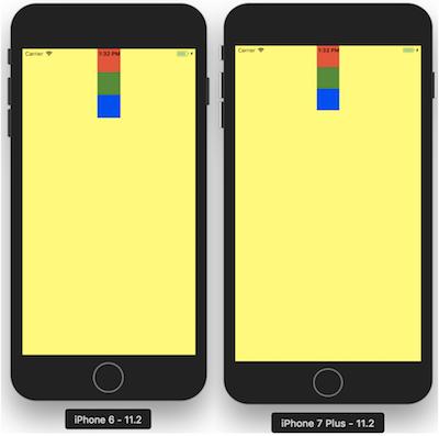 Style alignItems : center sur l'axe X