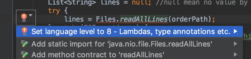 Solution Level Java