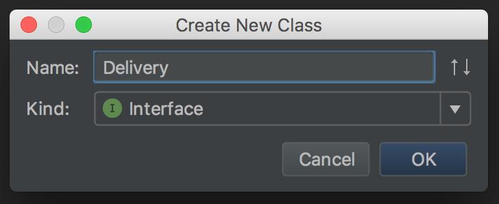 Création Interface