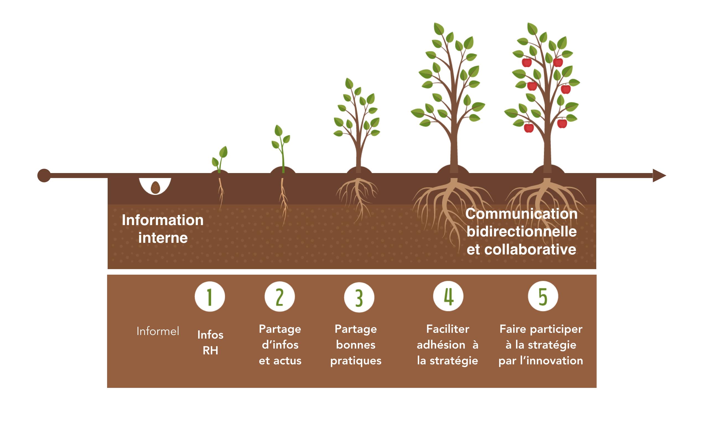 Evolution du champ de la communication interne