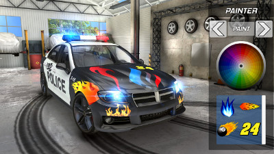 jeu android police drift car driving par myke38 openclassrooms. Black Bedroom Furniture Sets. Home Design Ideas