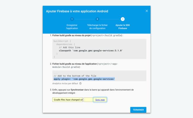 GOOGLE SIGN IN ANDROID STUDIO FIREBASE - Intégrez Firebase