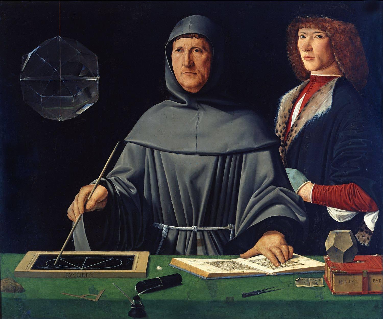 Luca Pacioli, considéré comme le fondateur de la comptabilité